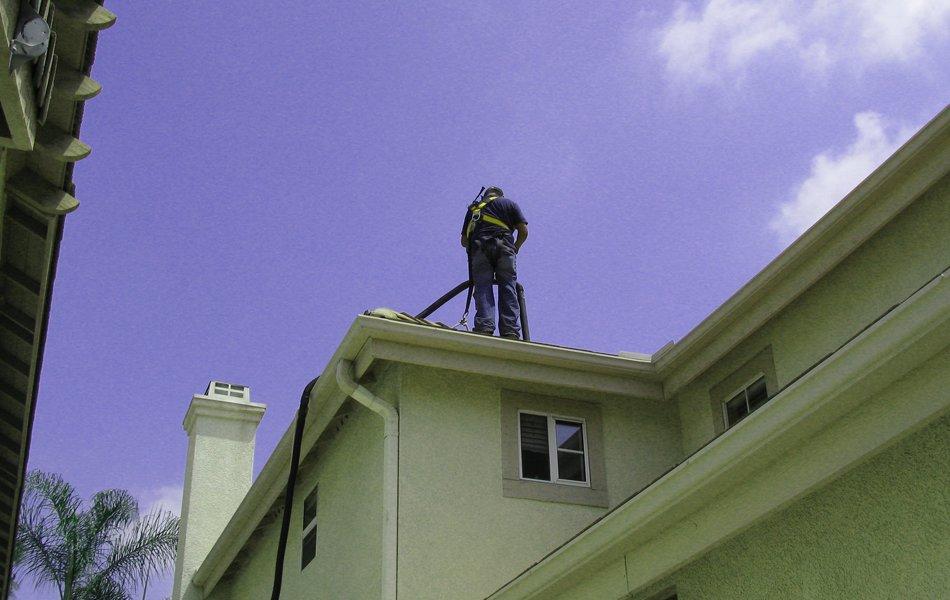 Rain Gutter Cleaning as well as Maintenance