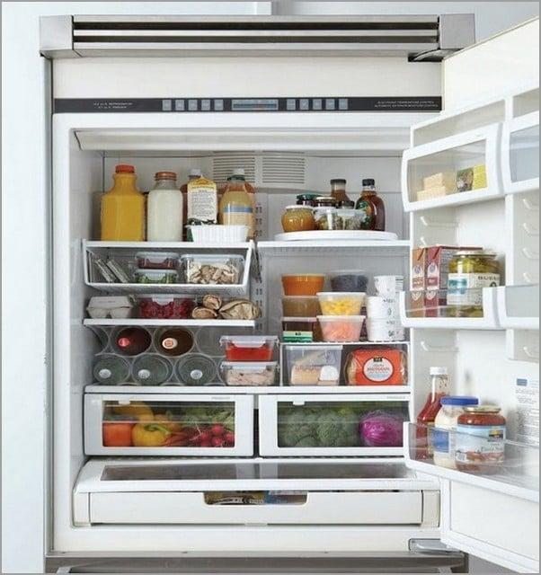 organize freezer