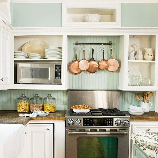 arrange kitchen
