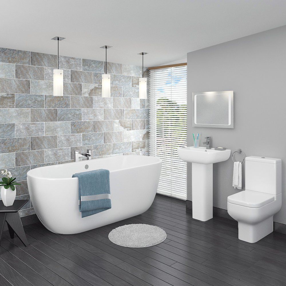 5 simple bathroom improvements useful home improvement tips for Pictures of new bathrooms