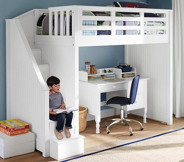 Save Space And Money With Staired Bunk Beds