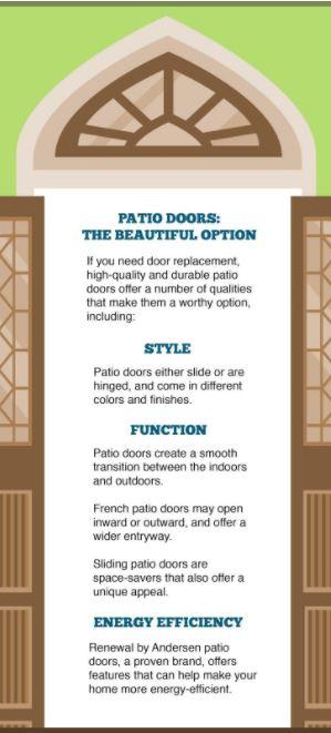 Patio Doors The Beautiful Option