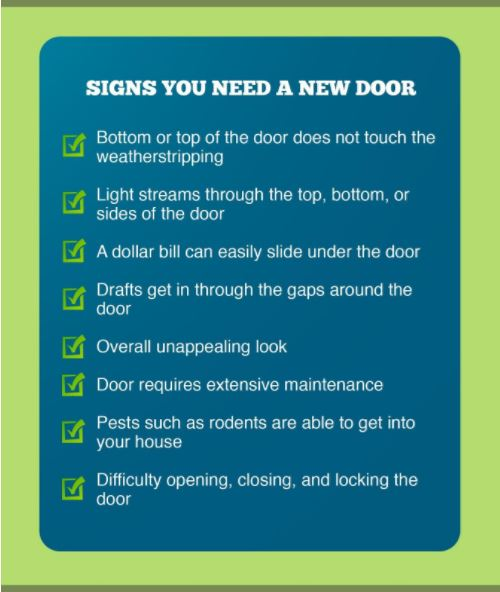 Signs You Need a New Door