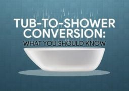 Tub-to-Shower Conversion: What You Should Know