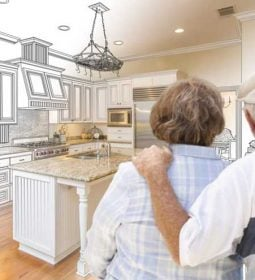 home remodel aging